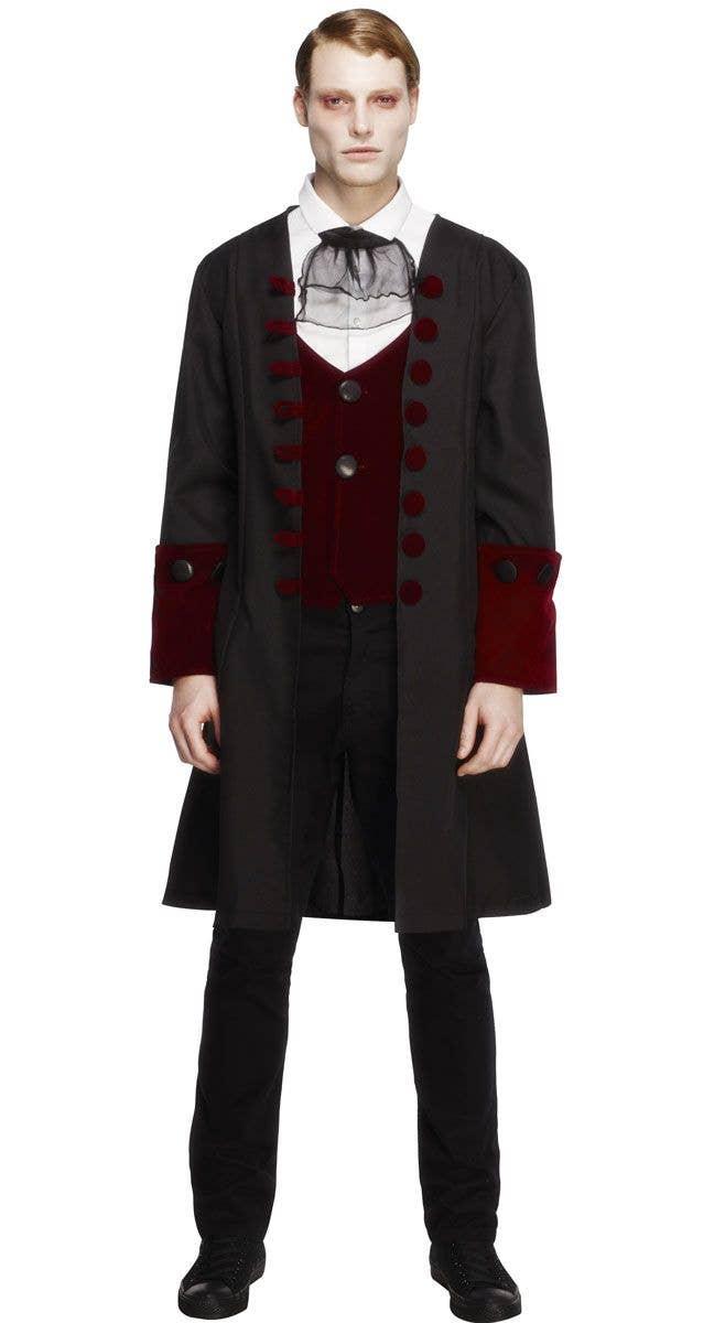 Costume Halloween Man.Gothic Vampire Men S Halloween Costume