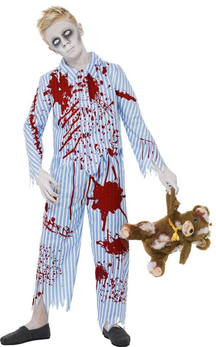 boys pyjamas zombie costume | kid's halloween costumes