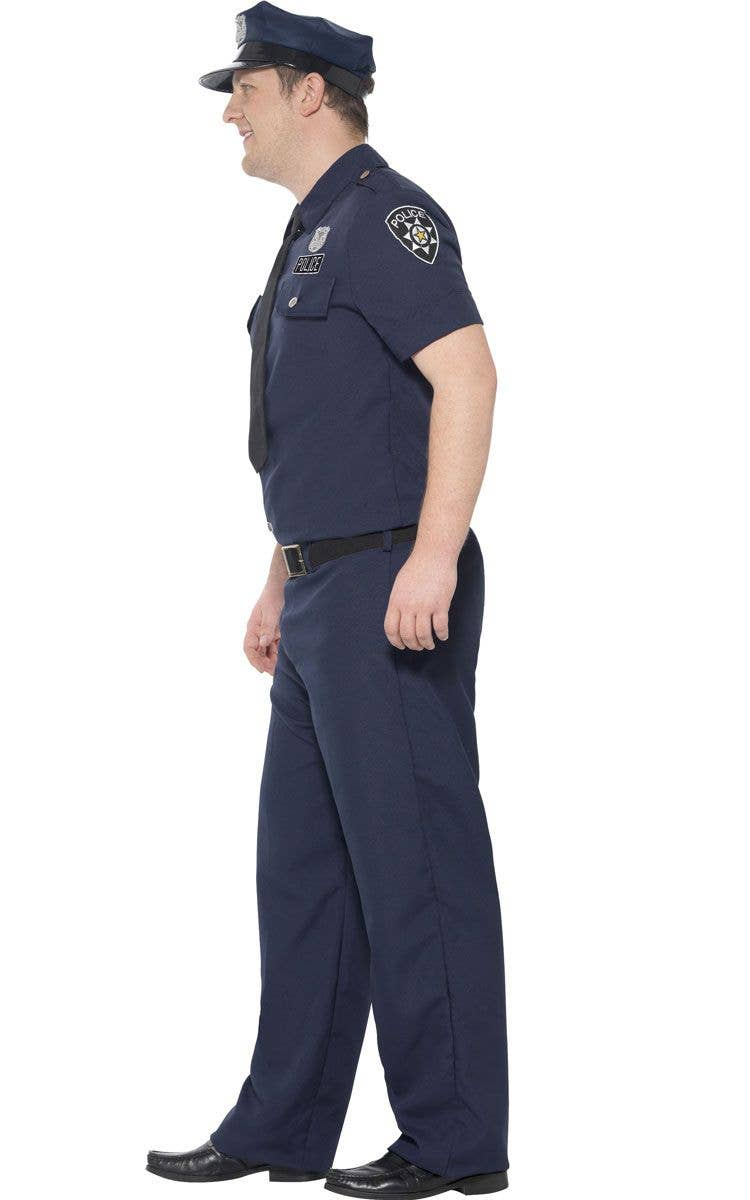 b789e7802ca9 NYC Police Plus Size Men s Costume Side Image
