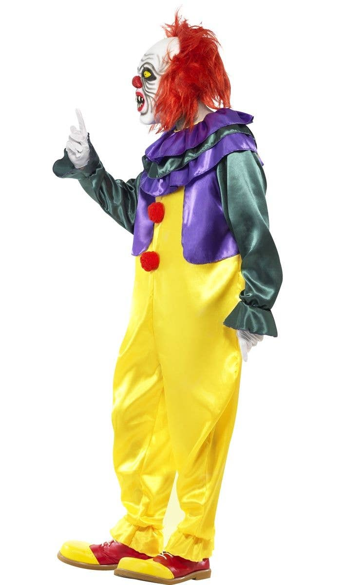 pennywise it classic horror clown movie character costume side