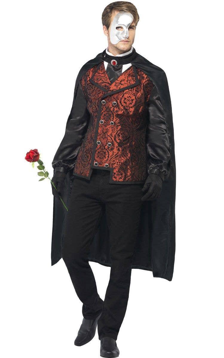 Festa de Halloween Smf-24574-dark-opera-mens-haunted-phantom-masquerade-costume