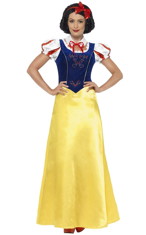 Ladies Snow White Costume Fairytale Snow White Storybook