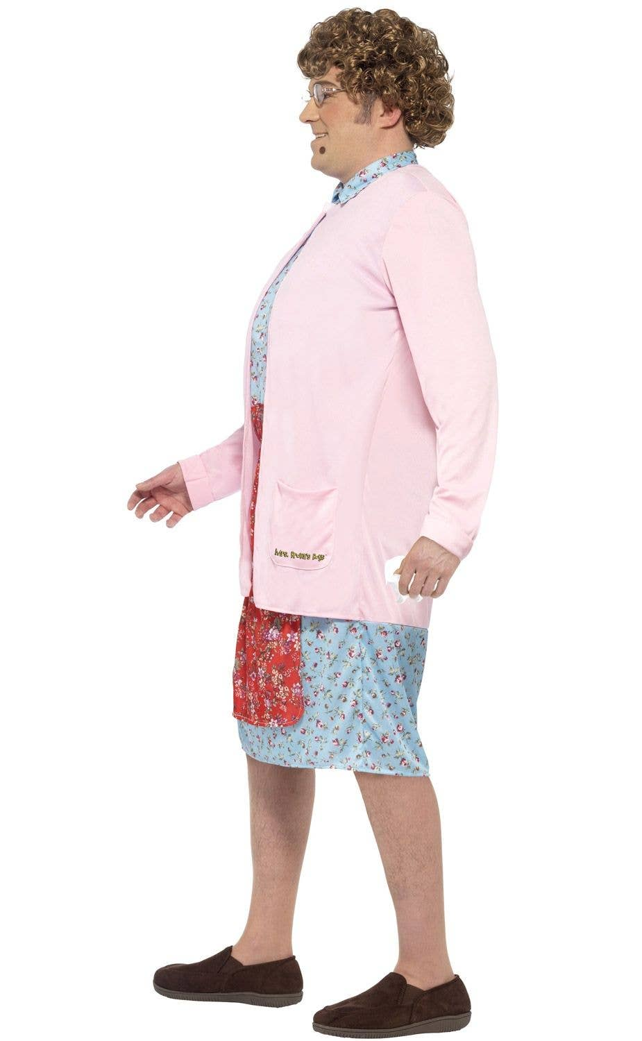 Old Lady Agnes Brown Men's Costume | Mrs Brown's Boy's Costume