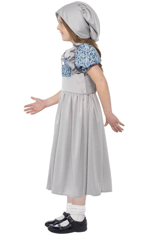 Victorian School Girls Costume School Girl Kids Costume