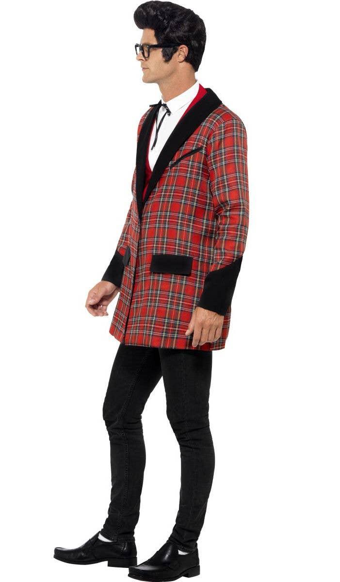 ... 1950u0027s Menu0027s Buddy Holly Costume Jacket Side  sc 1 st  Heaven Costumes & Menu0027s Buddy Holly Fancy Dress Costume | 1950u0027s Menu0027s Costume Jacket