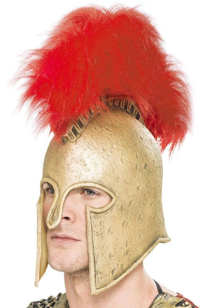 7e0513cc7ce More Views of Greek Spartan Warrior Men s Crested Helmet