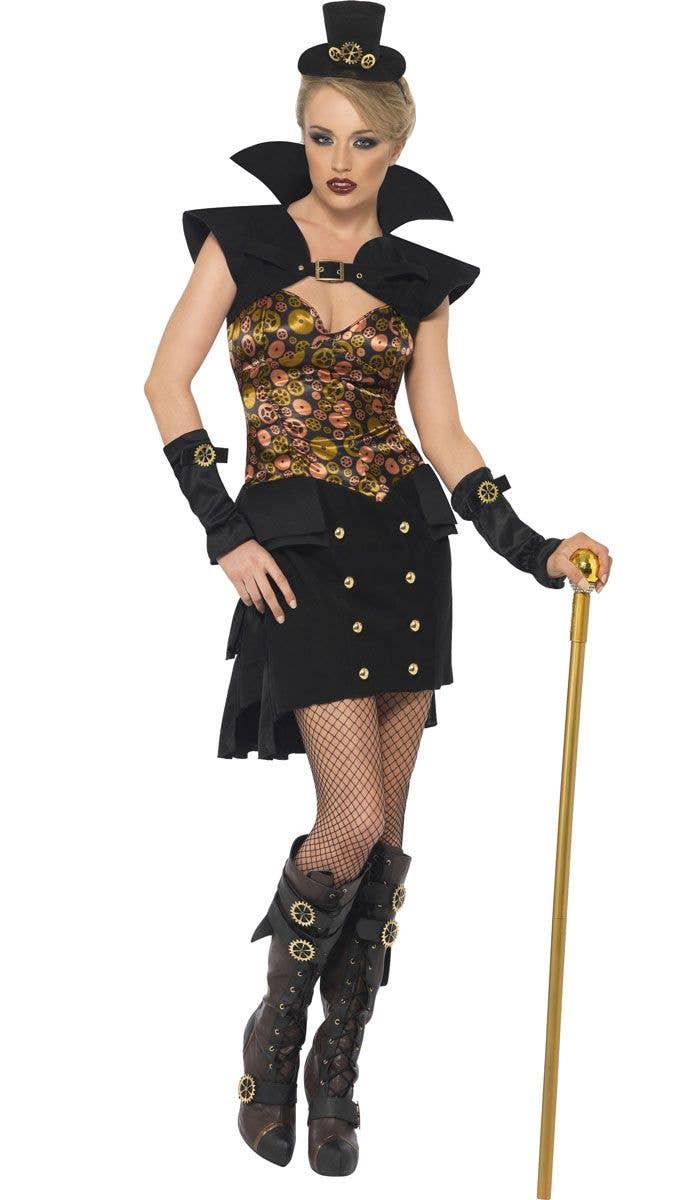 Steampunk Victorian Vampiress Sexy Women's Costume