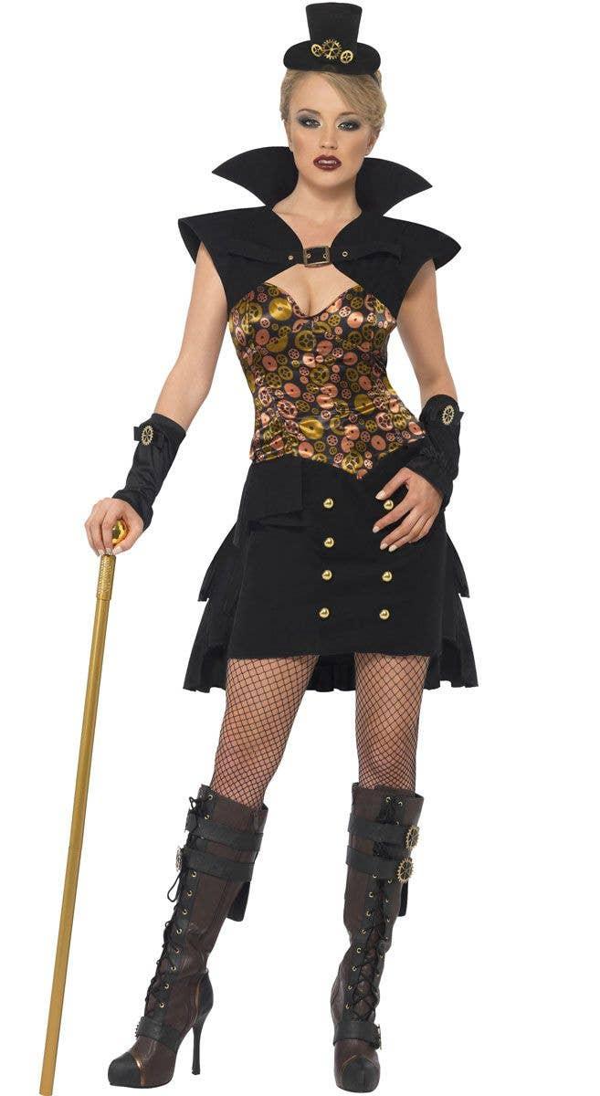 491bc861 Steam Punk Vampiress Costume | Victorian Vampire Women's Costume