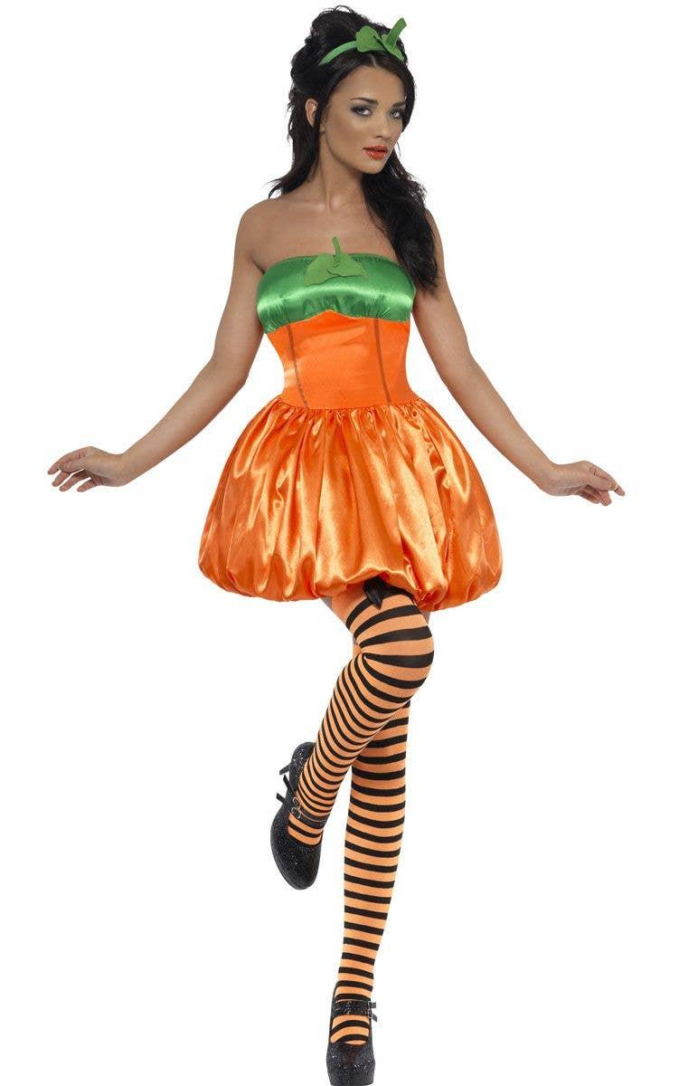Costumes For S Halloween | Sexy Pumpkin Halloween Costume Women S Orange Pumpkin Costume