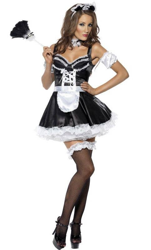 54196dde2c5 French Maid Costumes | Flirty French Maid Women's Sexy Costume