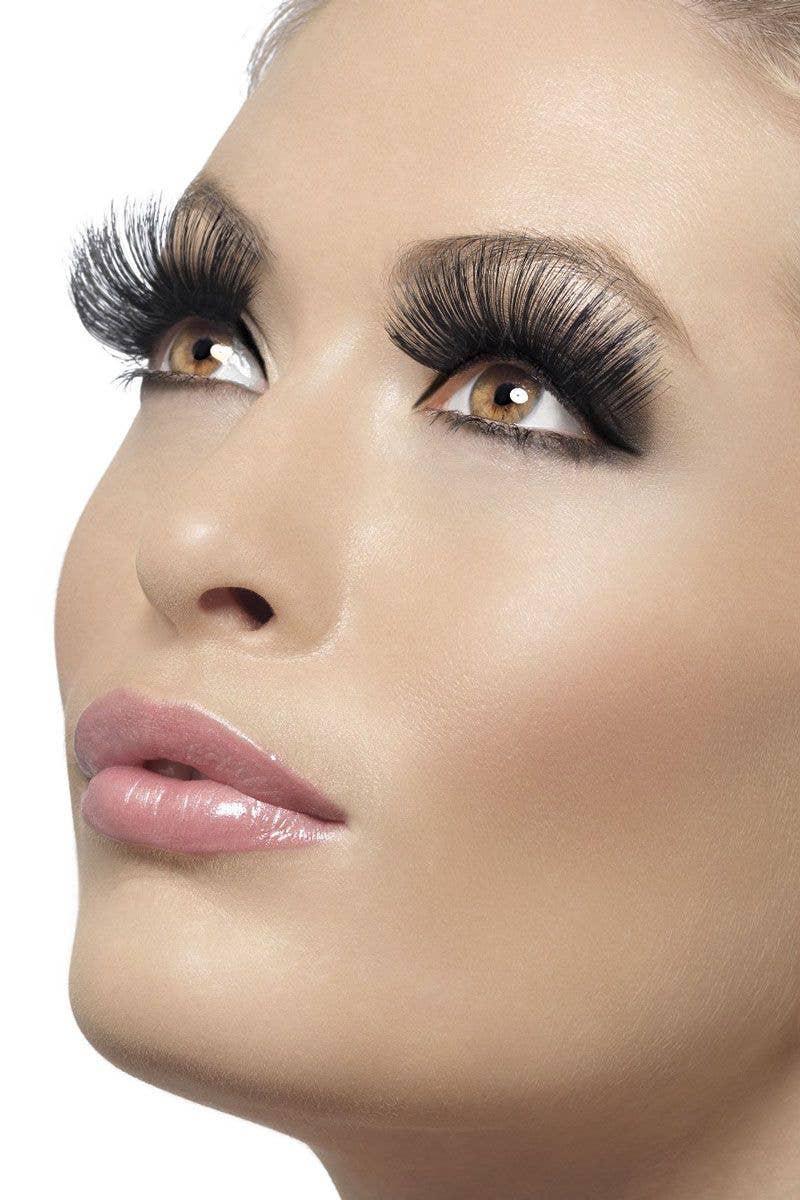 ab1146789d0 Extra Long Black Fake Eyelashes   Women's Thick Black Eyelashes