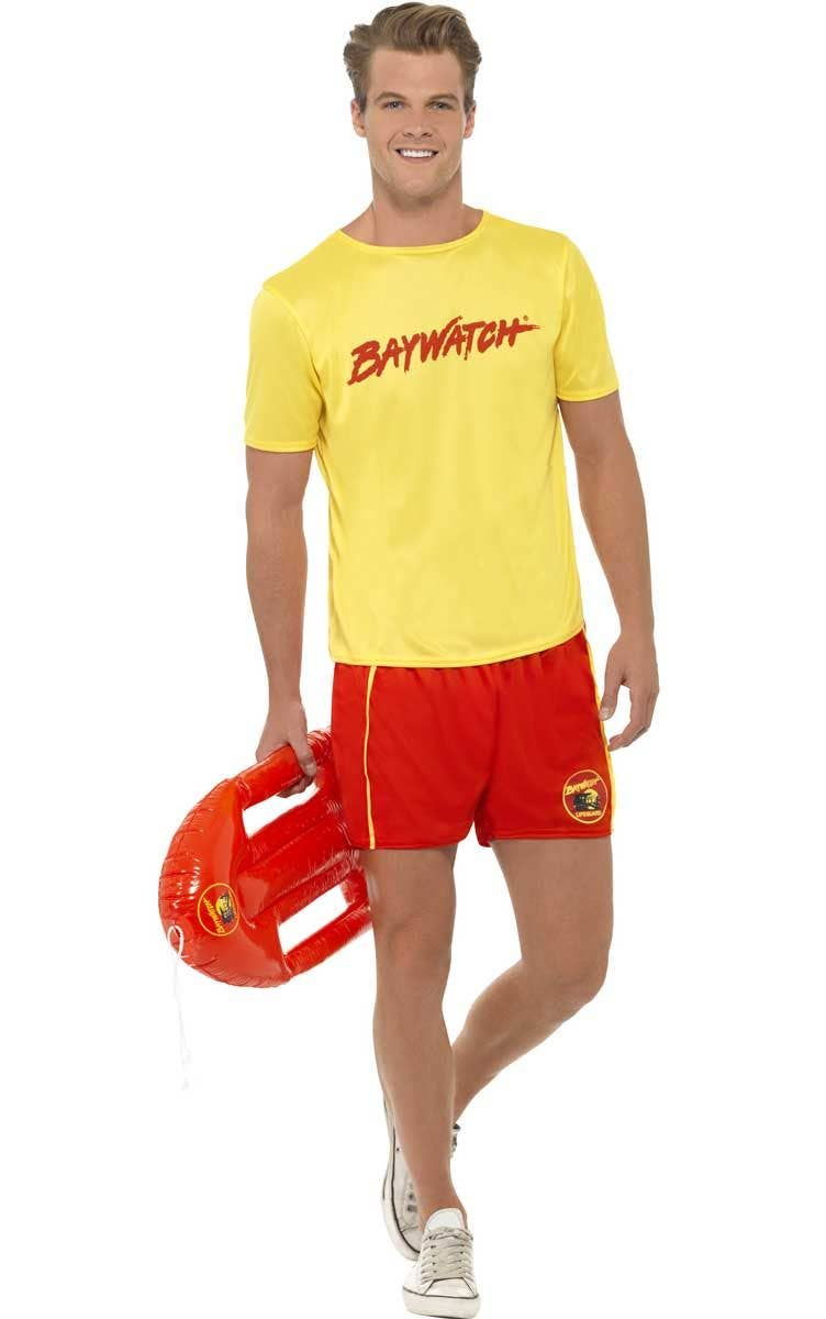 d66242da4ca6 Men s Baywatch Lifeguard Costume Main Image