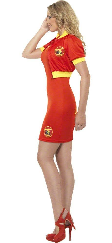 cf61694c352 Mid Length Women s Baywatch Costume Side View