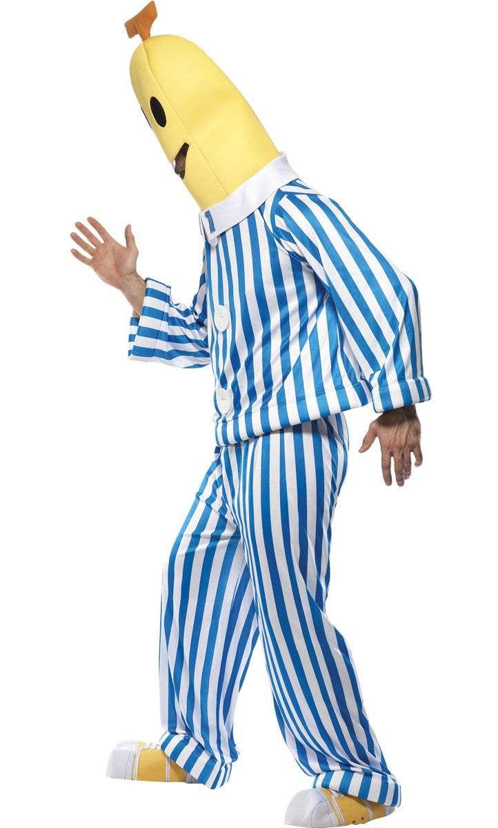 Adults Bananas In Pyjamas Costume B1 And B2 Fancy Dress Costumes