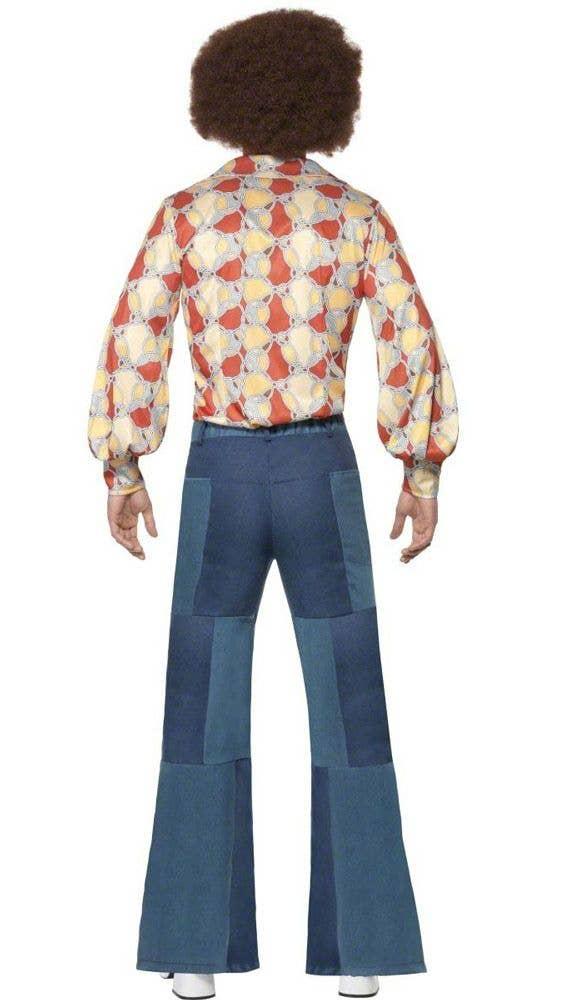 c26d718b6870 More Views of Men s Flared Disco Pants