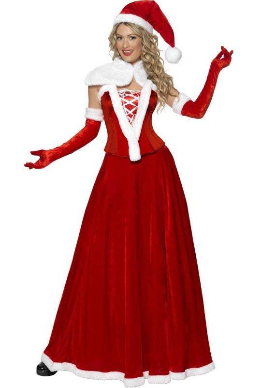45e667e02340 Luxury Miss Santa Christmas Costume   Mrs Santa Claus Women's Costume