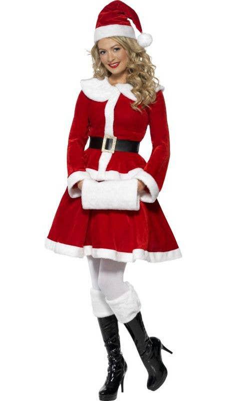1ac6b4d434f Miss Santa Christmas Fancy Dress Costume