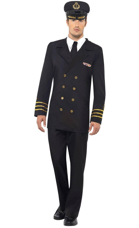 aaeb9197c Navy Officer Men's Defence Force Fancy Dress Costume