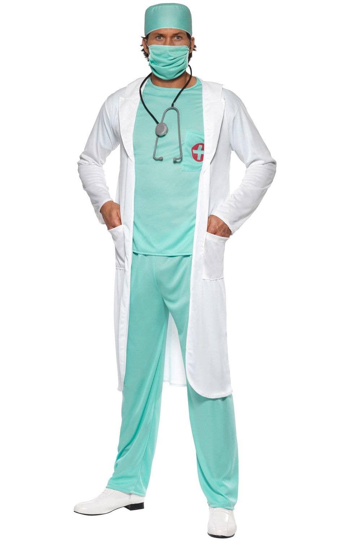 A E Doctor Men S Fancy Dress Costume
