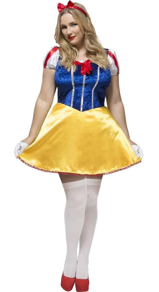 Princess Snow White Womens Costume Snow White Plus Size Costume