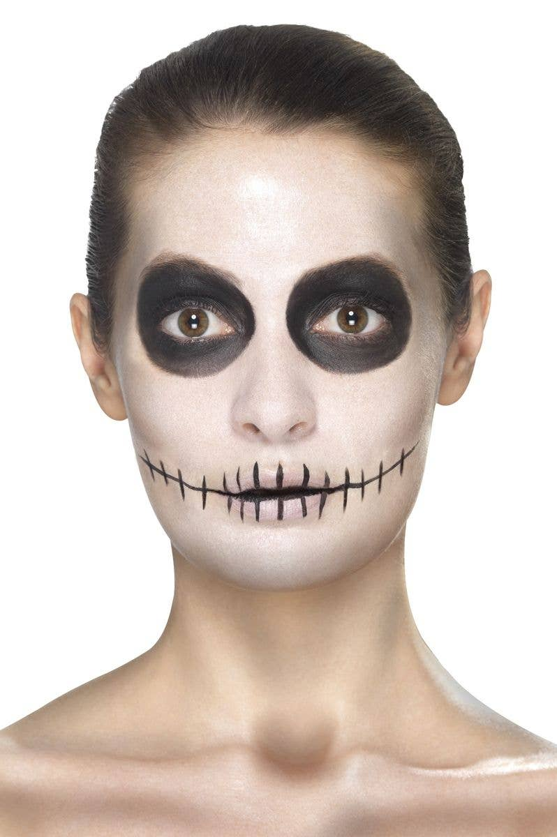 sugar skull day of the dead make up womens mexican