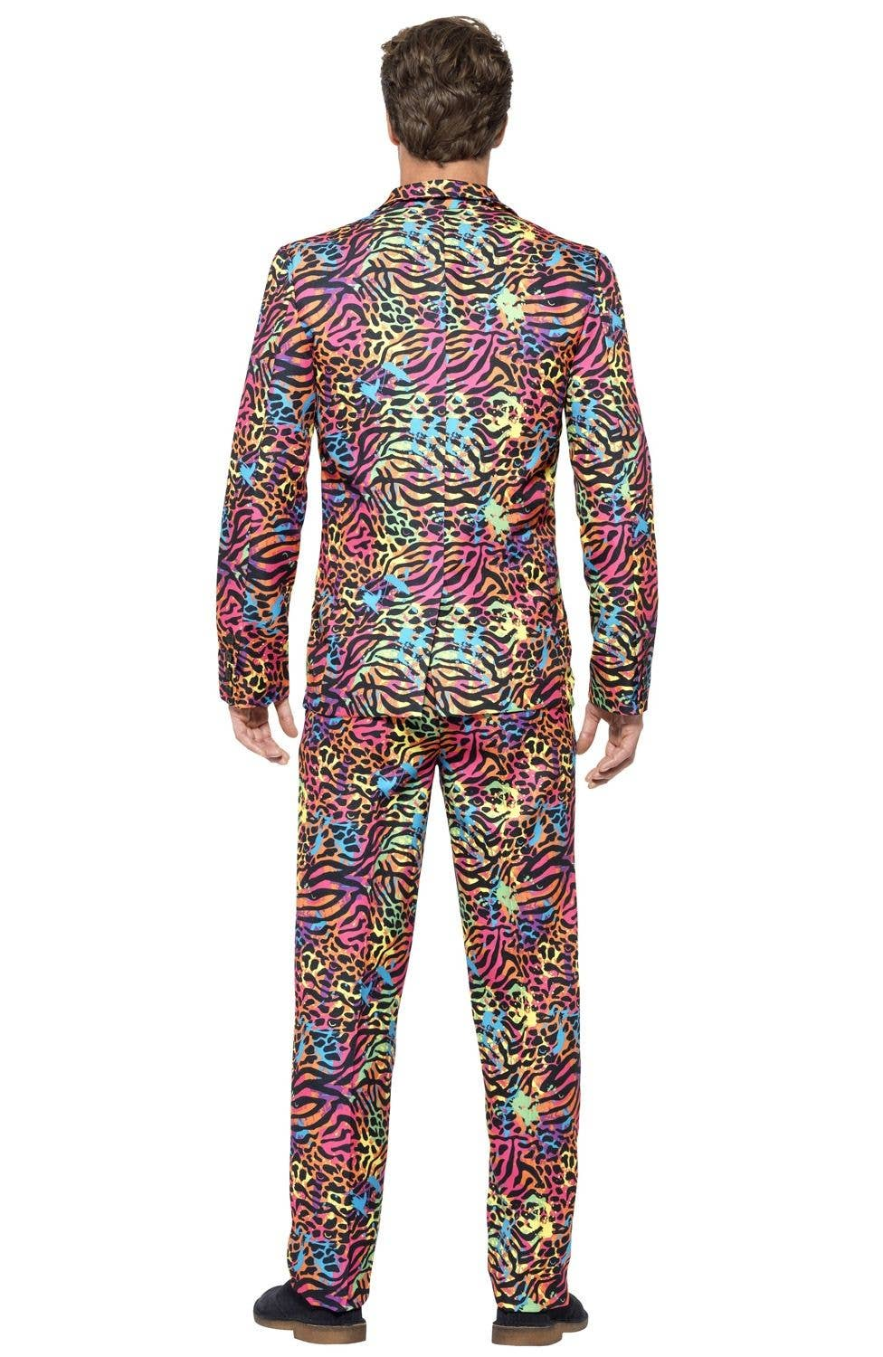 fe22f2527b51ca Neon Animal Print Stand Out Suit | Bright Coloured Men's Costume Suit