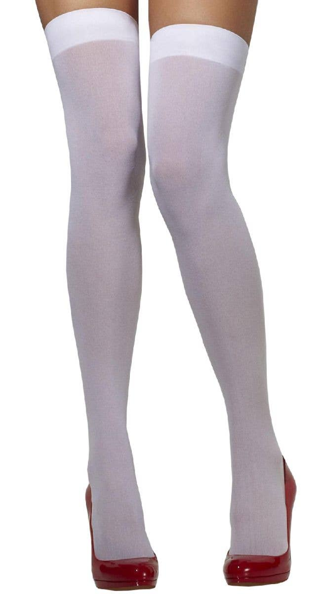 Opaque Tights Glamour Stockings Women/'s Fancy Dress Costume Accessory