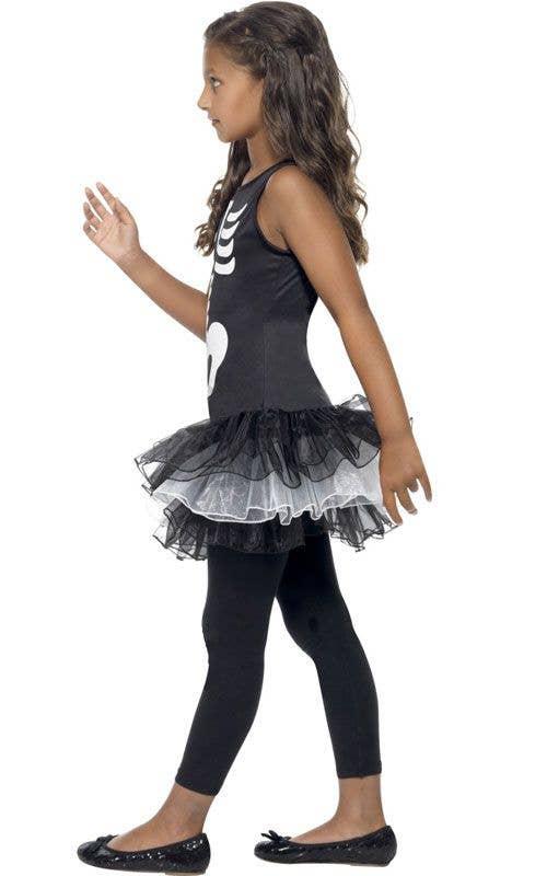 8a344271e1113 Girl's Cute Skeleton Costume | Tutu Skeleton Halloween Costume