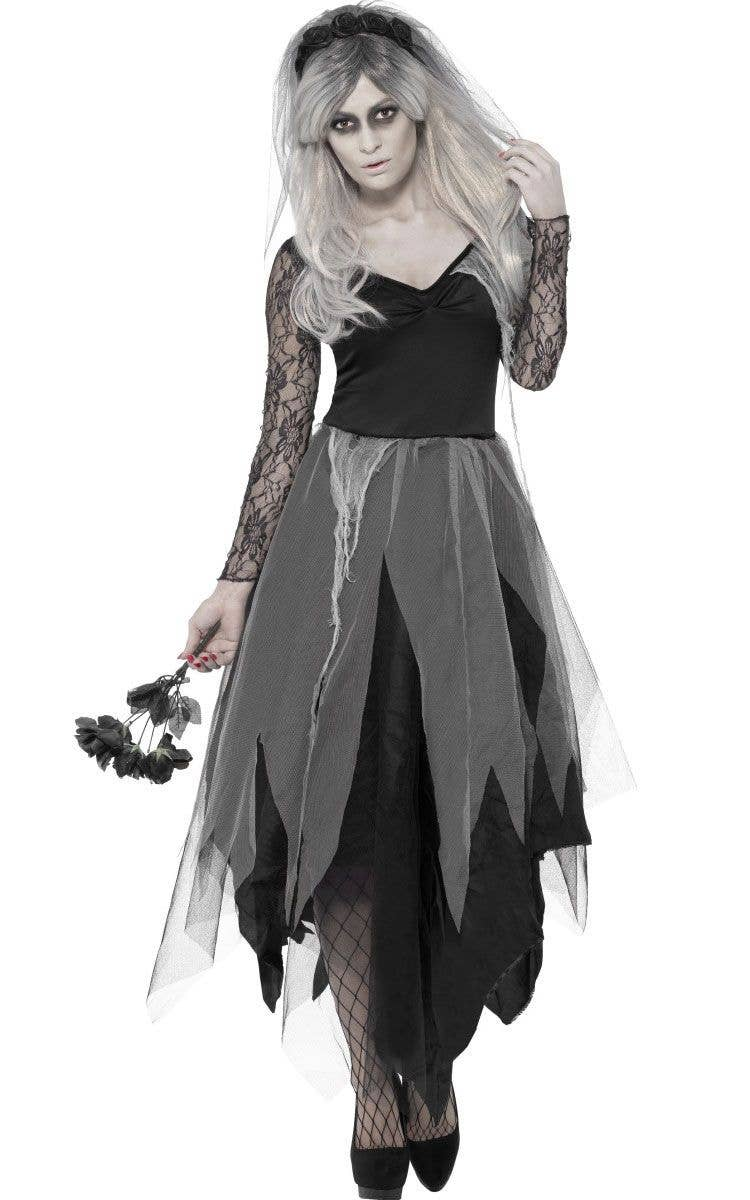 Dead Bride Halloween Costume.Graveyard Bride Women S Halloween Costume