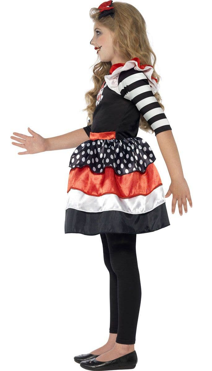 skully girl halloween costume | girls halloween skull costume