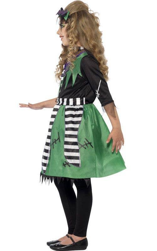 monster girls frankenstein halloween dress up costume side