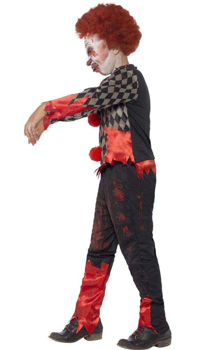 boys zombie clown costume | kid's halloween costumes