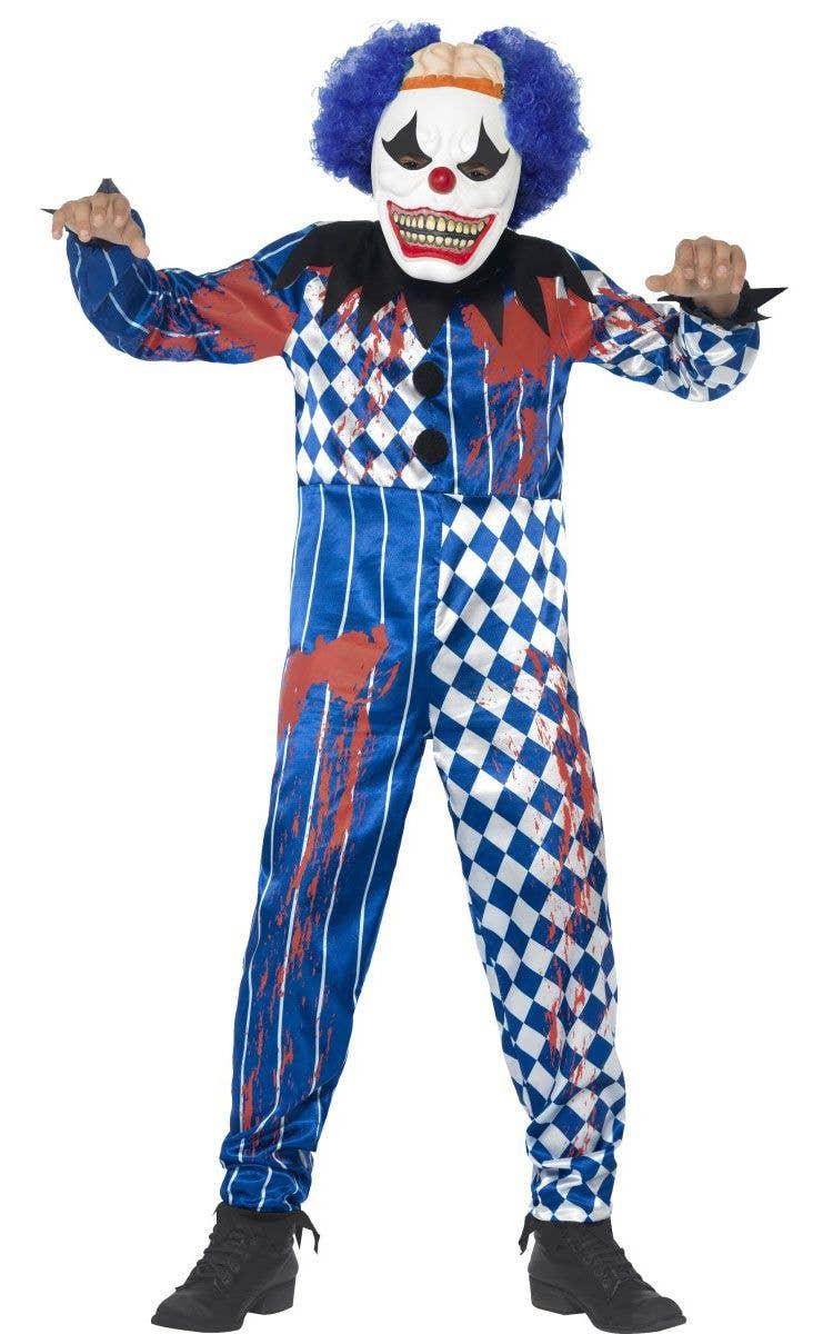 Sinister Clown Boys Halloween Costume
