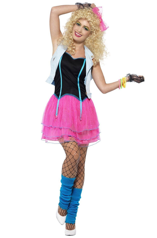 f1628e95b Wild Girl Women s 80 s Party Costume Main Image