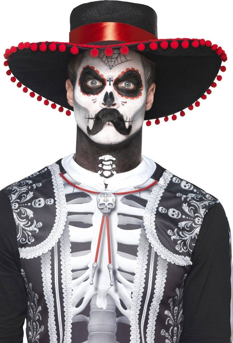Mexican Day Of The Dead Make Up Mens Day Of The Dead Face Paint