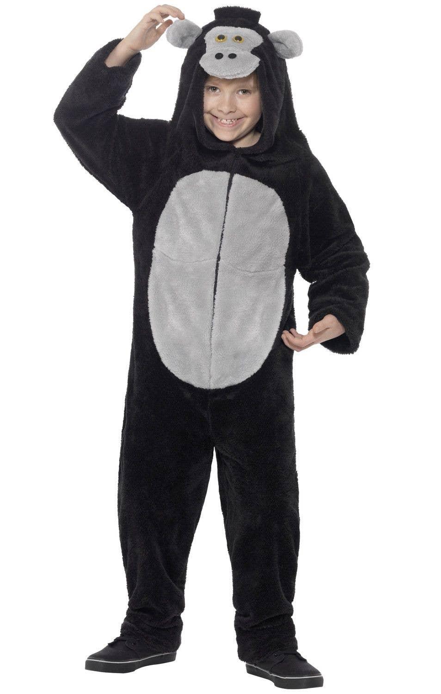 Gorilla Kids Fancy Dress Costume | Animal Onesie Book Week Costume