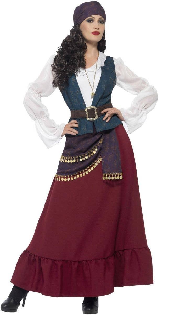 219bc6d3033 Buccaneer Beauty Deluxe Women's Pirate Fancy Dress Costume
