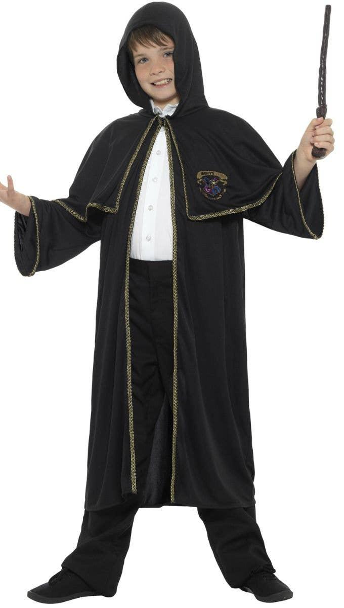 boys harry potter fancy dress costume accessories image 1 source boy s hooded wizard robe kid s unisex hooded wizard cloak