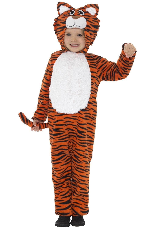 8d0dbd2e70b8 Kid's Tiger Safari Animal Onesie Book Week Costume Front Alt 2