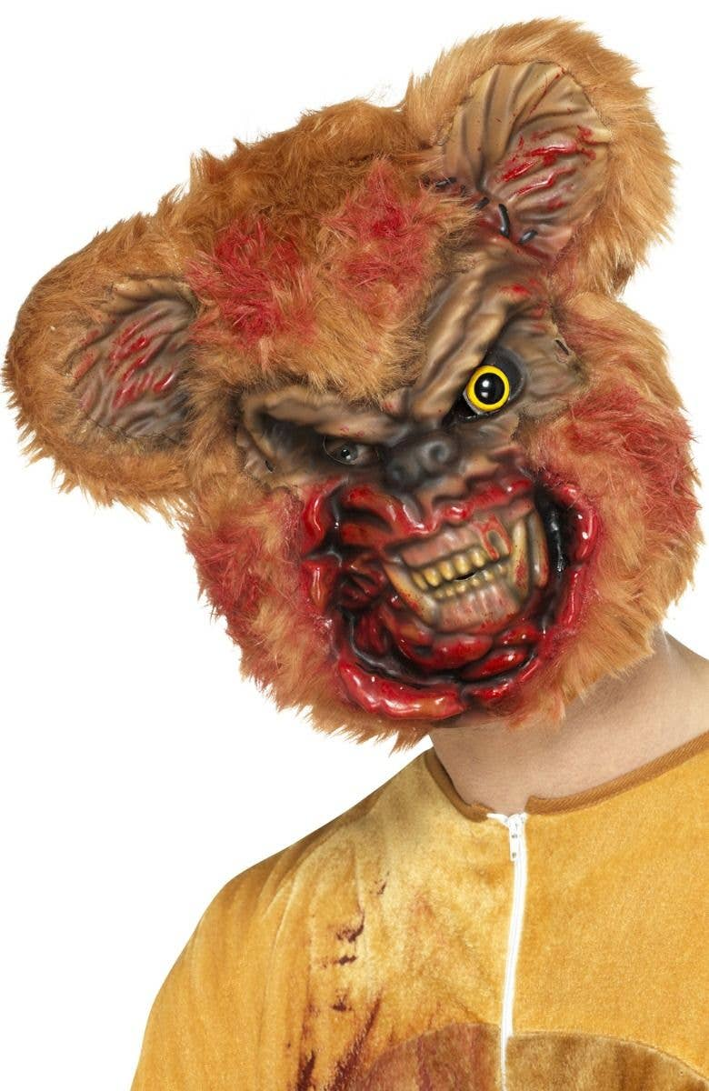 undead teddy bear costume mask | zombie animals halloween mask
