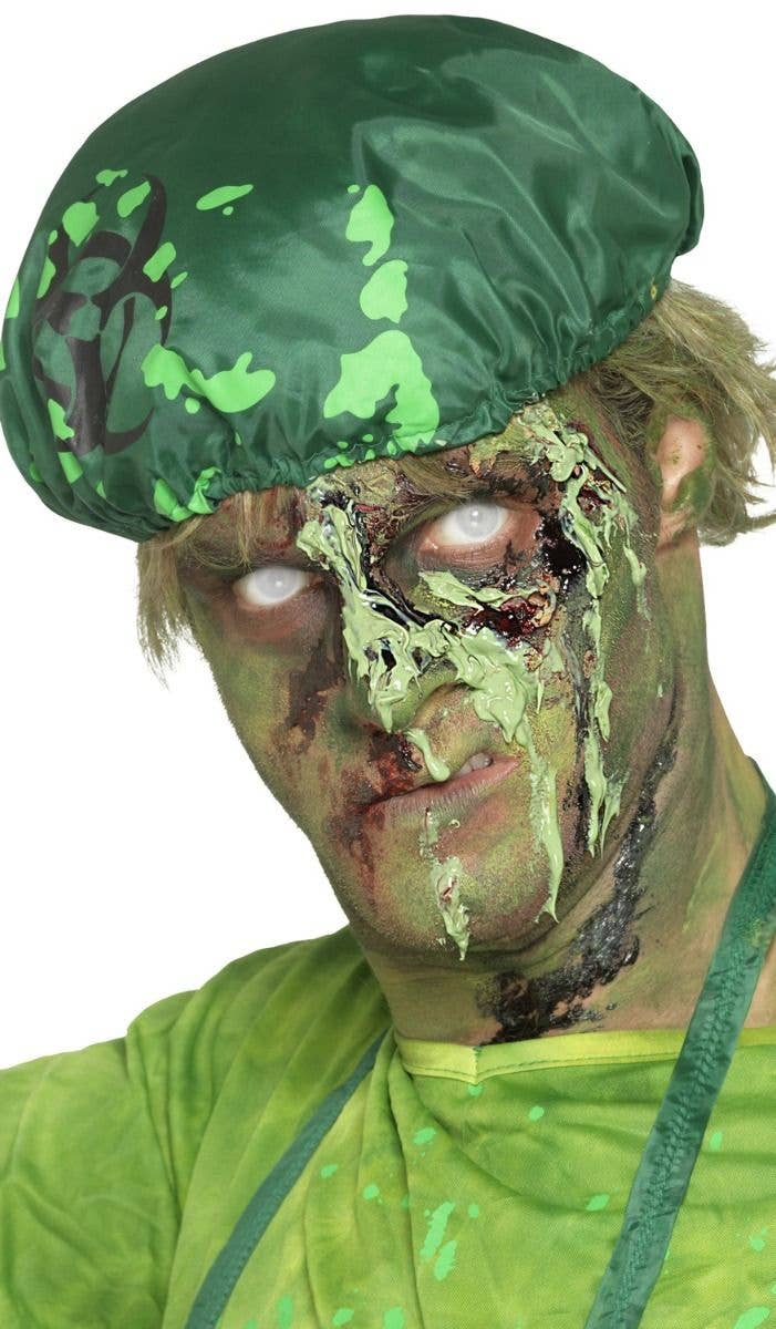 Monster Green Scab Blood Halloween Special FX Makeup