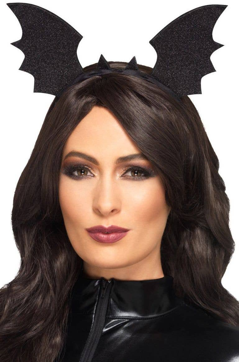 bat wings headband halloween costume accessory main image