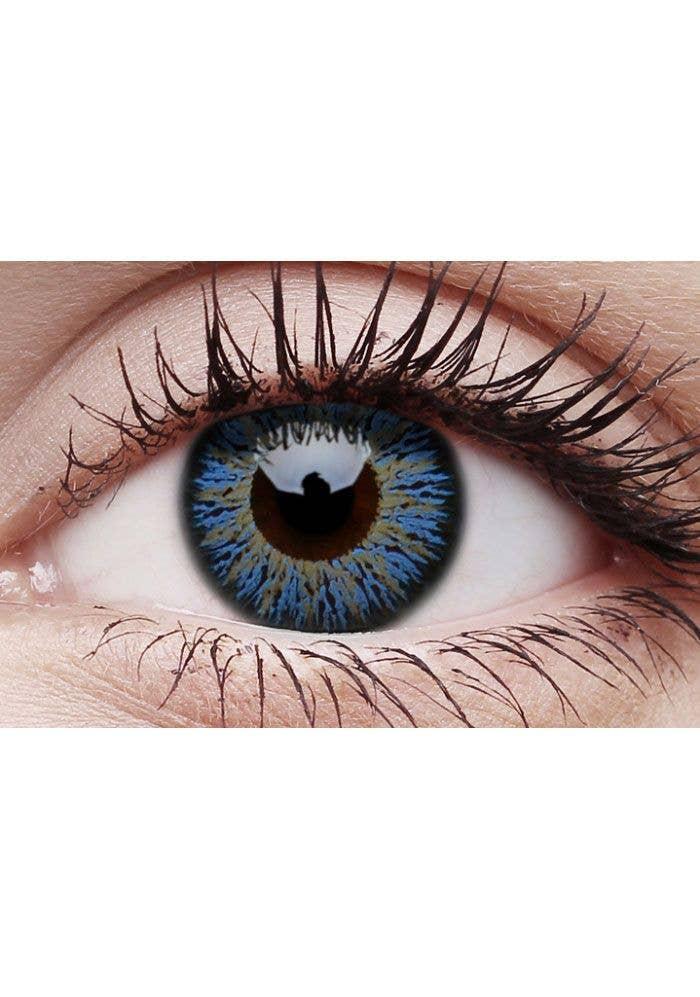 ecc517f6fd1 Glamour Aqua Coloured Cosmetic Contact Lenses