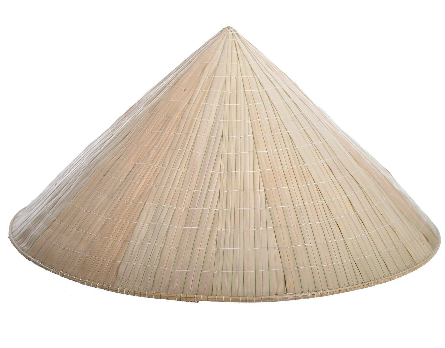 d9615a65f Sweida Bamboo Chinese Coolie Rice Hat Costume Accessory Close Image