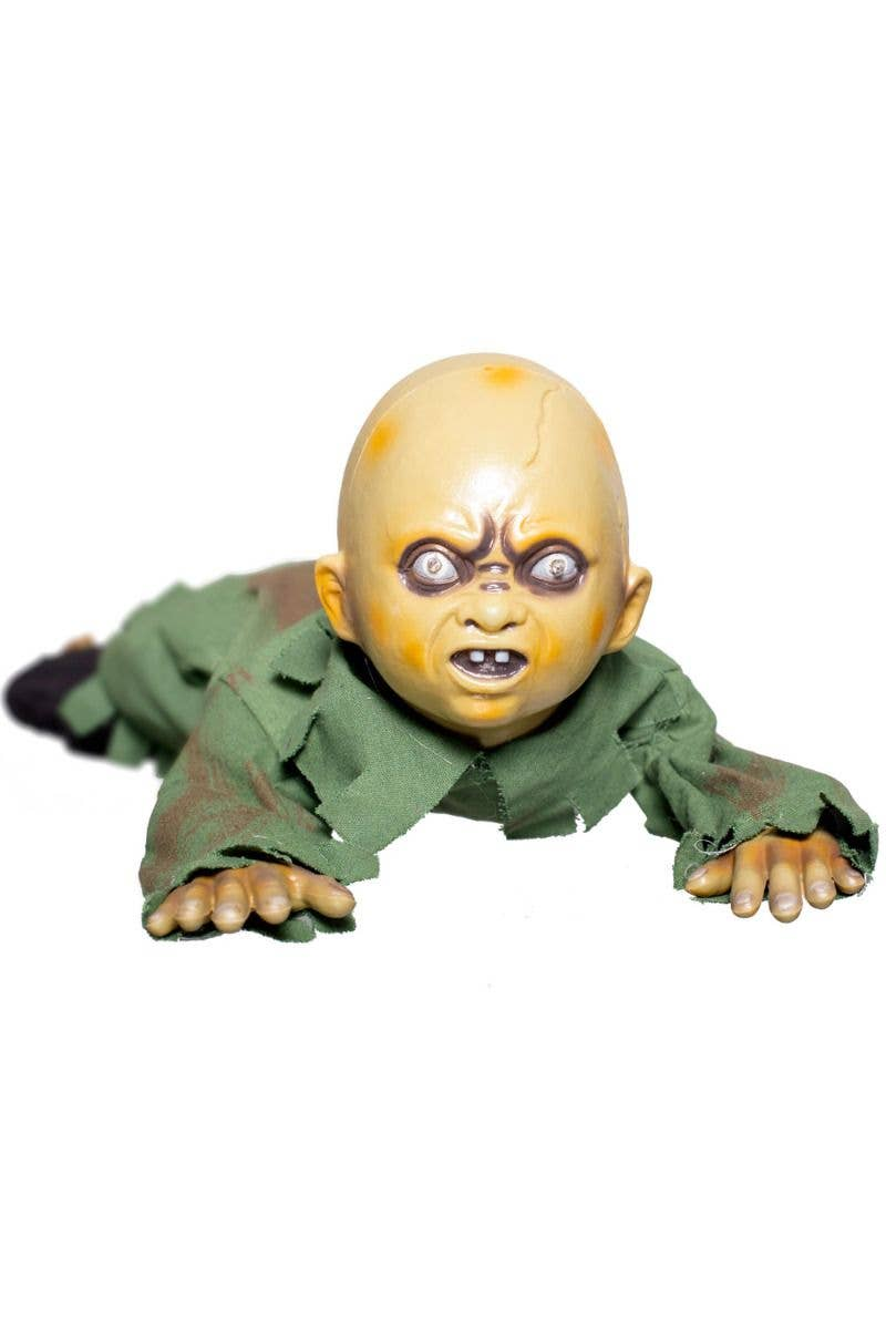 Halloween Zombie Baby Prop.Crawling Zombie Baby Animated Halloween Decoration