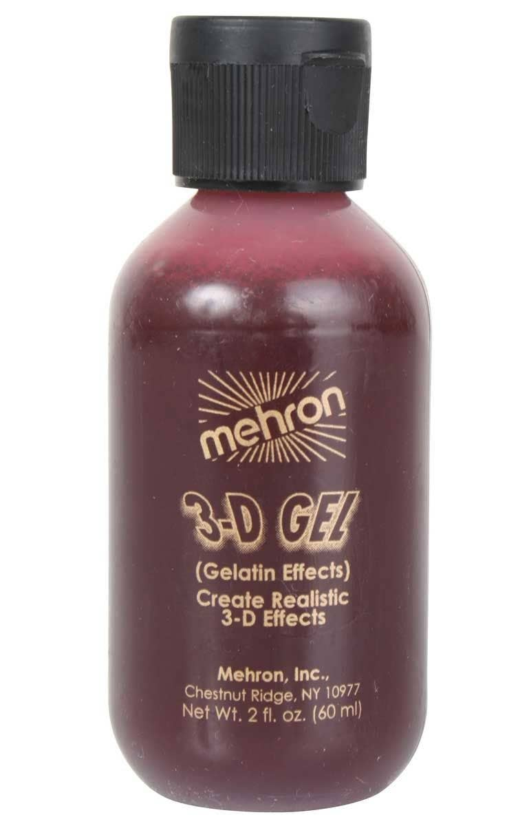 Professional Blood Red 3-D Gel Special FX - 60ml