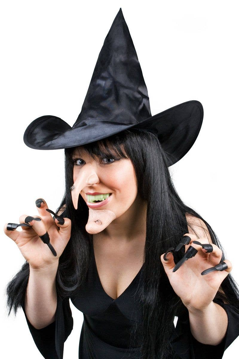 Halloween Witch Costume Kit | Witch Nose, Chin, Hat, and ...