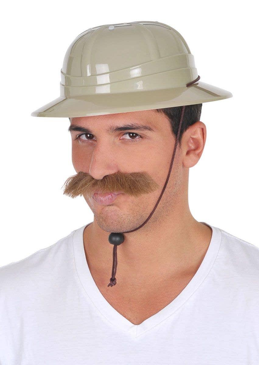 new product 637bf 24868 Adult s Safari Pith Helmet Costume Accessory