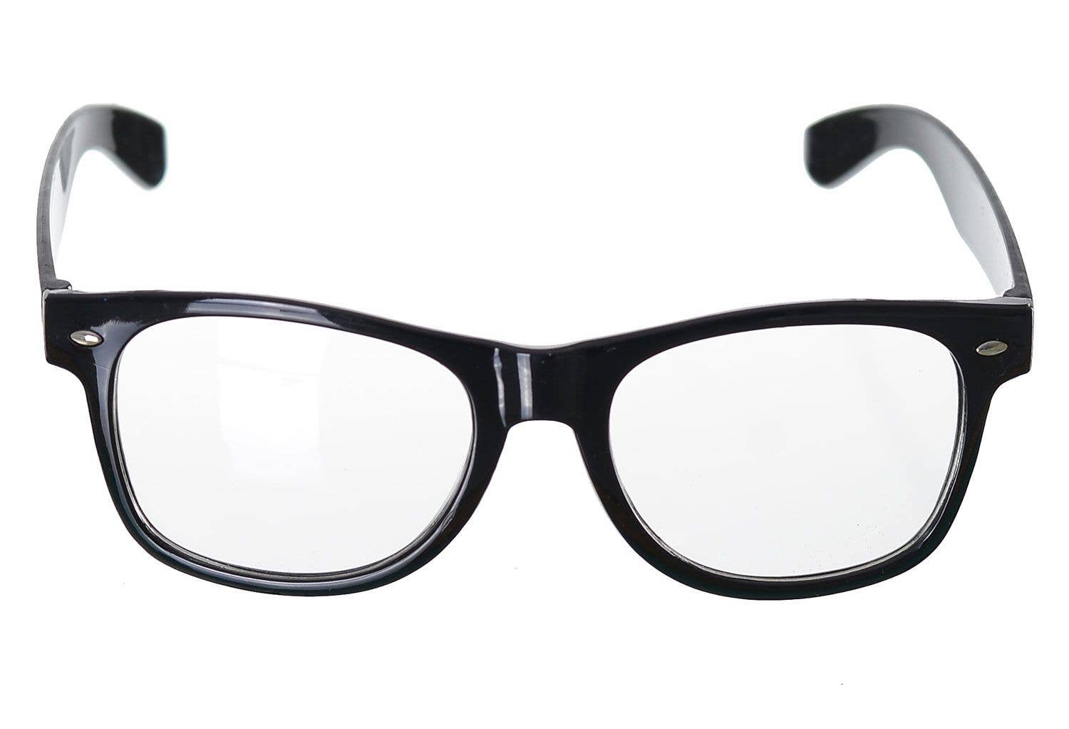 86fb8c2a492 More Views of School Nerd Black Frame Glasses