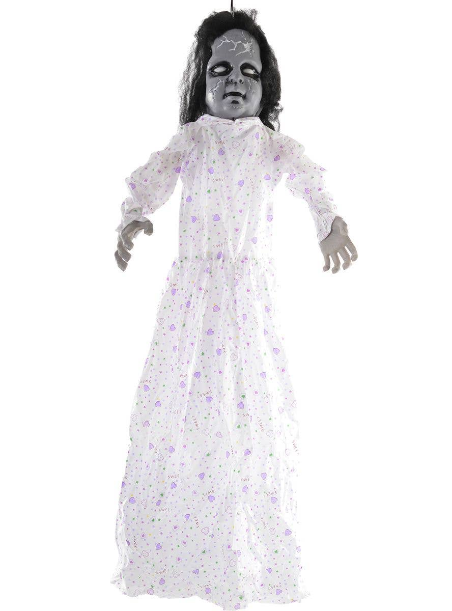 Collectibles Halloween HALLOWEEN GRIM GIRL DOLL ZOMBIE SOUND